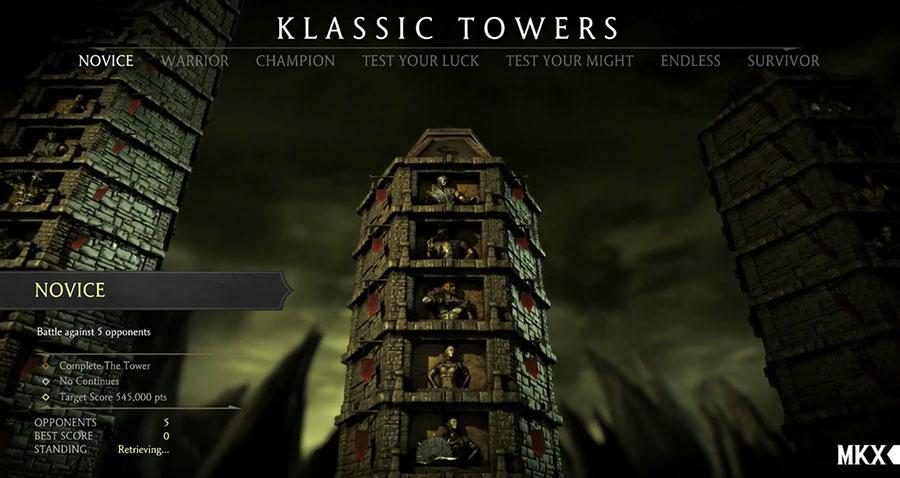 Mortal Kombat X Towers